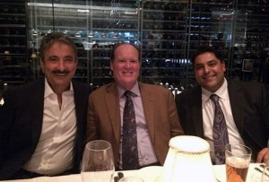 ith Dr. Aristo Vojdani, the father of functional immunology (left), Dr. Jeff Bland the father of functional medicine (center), having a mind-expanding dinner together.